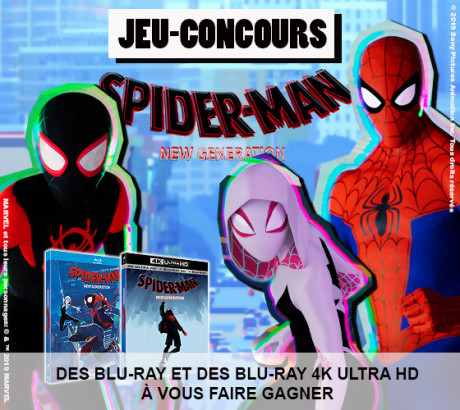 "Jeu-concours ""Spider-Man New Generation"""