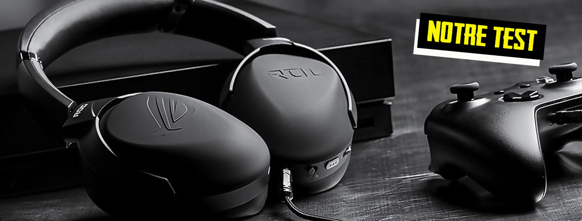 Test ASUS ROG STRIX GO 2.4: la Rolls du casque nomade sans-fil?