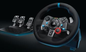 PS4 / Xbox One : un volant haut de gamme chez Logitech