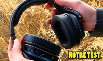 TEST Logitech G935 : un casque gaming qui tient toutes ses promesses ?
