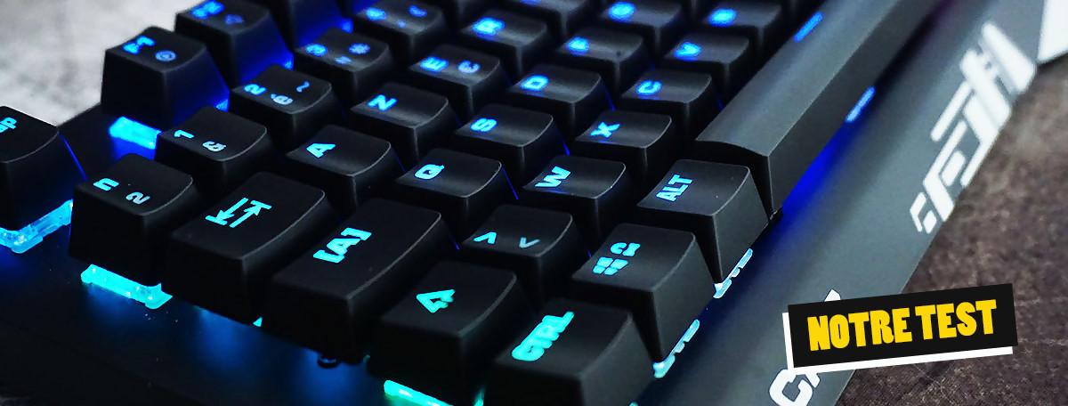 Test clavier Mad Catz S.T.R.I.K.E 4 : un retour aux affaires difficile ?