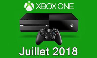 Xbox One : la liste des jeux gratuits du mois de juillet 2018