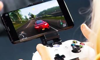 Project xCloud : une nouvelle vidéo où Forza Horizon 4 tourne sur Android