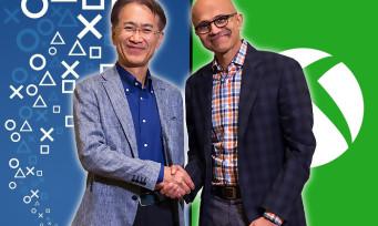 Microsoft : un rapprochement à l'initiative de Sony selon le PDG