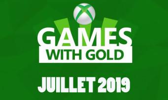 Xbox Live : voici la liste des jeux gratuits pour juillet 2019