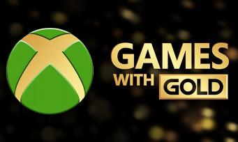 Games With Gold : du lourd pour les jeux gratuits d'août