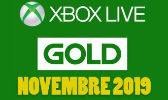 Xbox Live : les jeux gratuits pour novembre 2019 sont connus