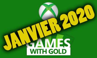Xbox Live : les jeux gratuits pour janvier 2020 sont déjà connus