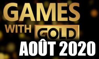 Xbox Live : la liste complète des jeux gratuits pour août 2020