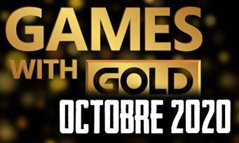 Xbox Live : la liste complète des jeux gratuits pour octobre 2020