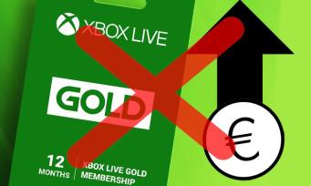 Xbox LIVE Gold : Microsoft rétropédale et annule l'augmentation de ses tarifs