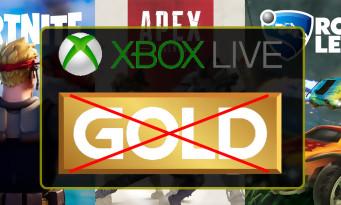 Xbox Live Gold : les free-to-play désormais jouables sans abonnement !