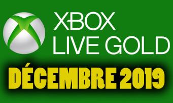 Xbox Live : on connaît les jeux gratuits pour décembre 2019