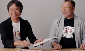 30 ans de Mario : Shigeru Miyamoto dévoilent de nouvelles anecdotes