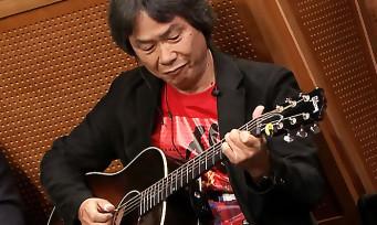 Nintendo : Shigeru Miyamoto joue le thème de Mario à la guitare !