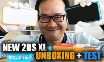 New 2DS XL : notre unboxing et présentation de la console de Nintendo