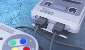Mini Super NES : trailer sur les jeux, l'interface et les branchements