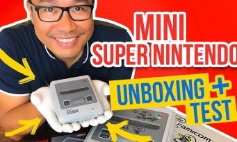 Mini Super Nintendo : unboxing, branchements et test de la console !