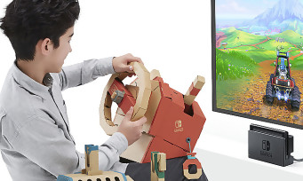 Nintendo Labo : une vidéo de présentation pour le Kit Véhicules