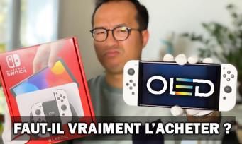 Nintendo Switch OLED : faut-il l'acheter ? Notre verdict + unboxing + comparatif
