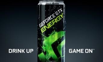 NVIDIA GeForce GTX Energy : voici la boisson spéciale pour les gamers