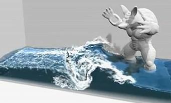 PS4 : une nouvelle démo technique de l'eau par NVIDIA