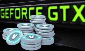Nvidia : le pack contre attaque et 2000V-Bucks Fortnite offerts !