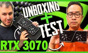RTX 3070 : notre test complet + unboxing de la nouvelle GeForce NVIDIA