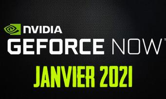 GeForce Now : voici les jeux de Janvier 2021 qui arrivent dans le service