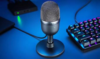 Razer : la firme dévoile le micro pour streamer Seiren Mini