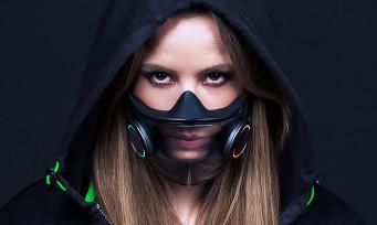 Razer : un masque anti-COVID Chroma RGB et auto-stérilisant, la pure folie !