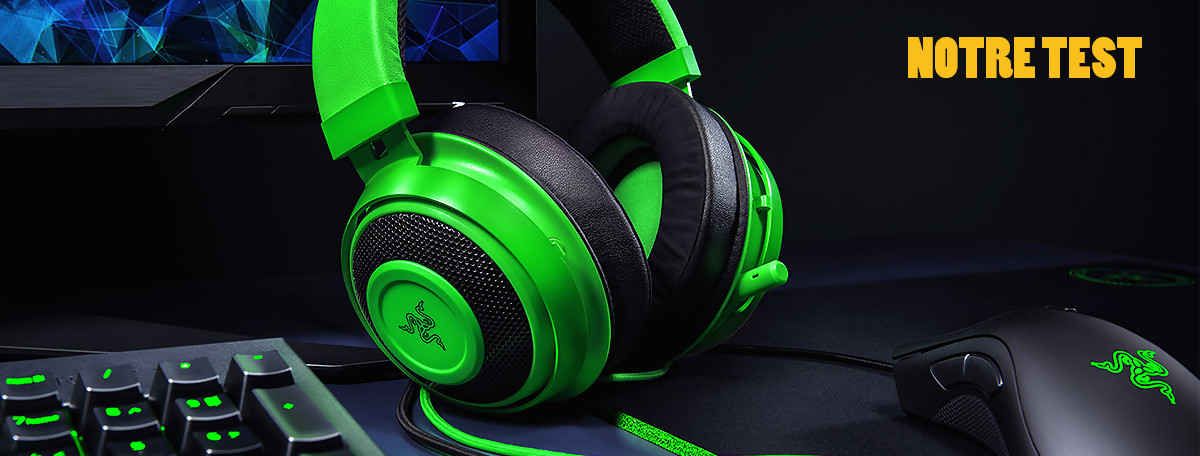 Test Razer Kraken Tournament Edition THX 7.1 : du bon matos à prix ok ?