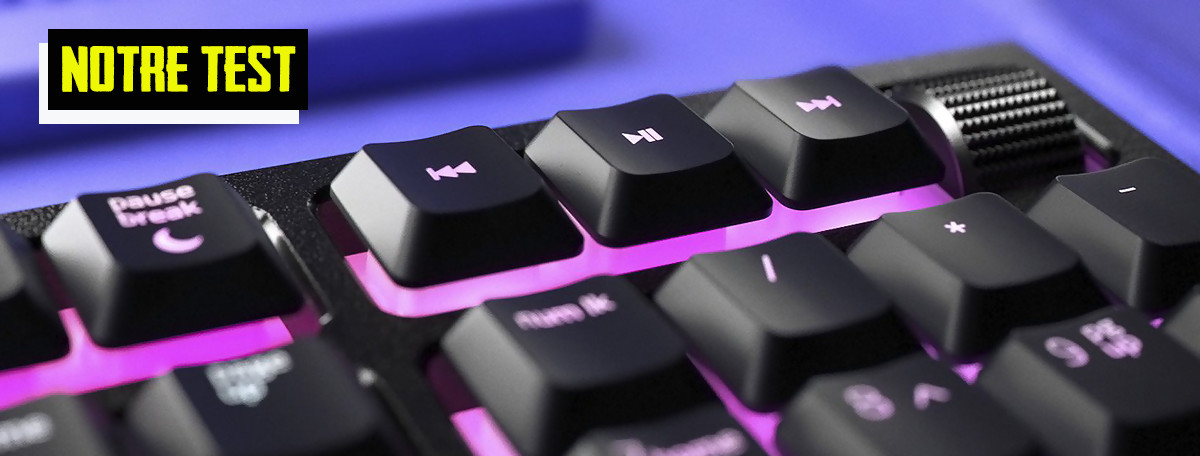 Test Razer Ornata V2 : un clavier mécha-membrane qui fait plutôt bien le job
