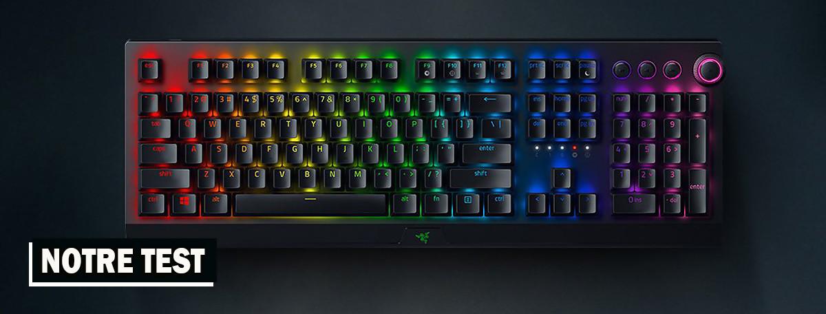 Test Razer Blackwidow V3 Pro : une version réussie pour le clavier haut de gamme