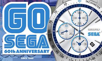 SEGA : des montres Seiko ultra-collector pour fêter ses 60 ans