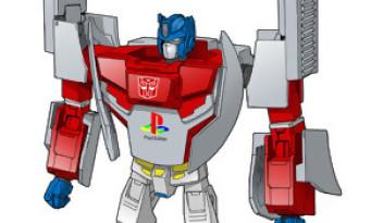 Transformers : une Mega Drive et une PS One aux couleurs de la série