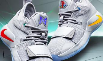 PlayStation : Sony dévoile les Nike PG 2.5, des nouvelles baskets sublimes