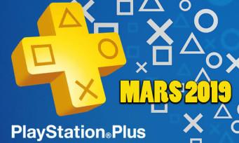 PlayStation Plus : les jeux gratuits pour le mois de mars dévoilés
