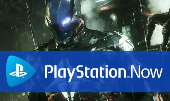 PlayStation Now : Batman Arkham Knight dans les jeux de mai
