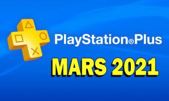 PlayStation Plus : voici les jeux gratuits de Mars 2021