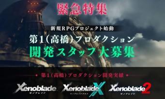 Monolith Software (Xenoblade) : recrute pour son prochain RPG !