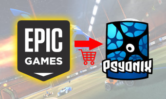 Psyonix (Rocket League) : le studio racheté par Epic Games