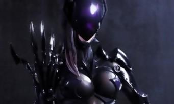 Catwoman par le designer de Final Fantasy