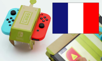 Charts France : Nintendo Labo talonne de près GOD OF WAR !