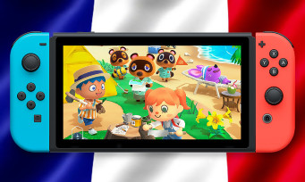 Charts France : les ventes d'Animal Crossing New Horizons en France