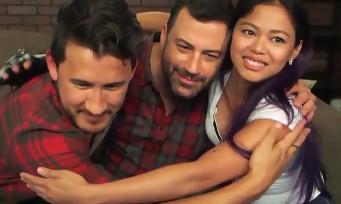 Jimmy Kimmel fait appel à deux YouTubeurs gamers pour faire un Let's Play
