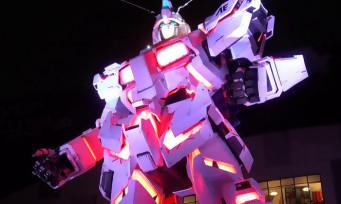 Gundam : l'inauguration du Unicorn Gundam de Tokyo en vidéo