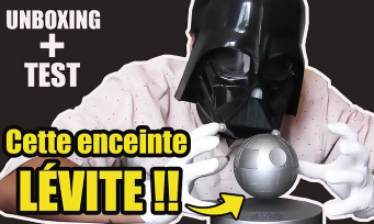 Plox Star Wars Death Star : notre unboxing de l'enceinte qui lévite !
