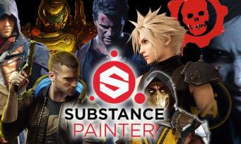 Substance Painter : le logiciel français que tous les jeux vidéo AAA utilisent