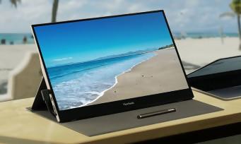 ViewSonic : le fabricant annonce un nouveau moniteur portable